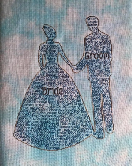Bride and Groom In Words